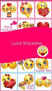 Love Emoji and Free Stickers - náhled