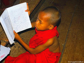 Photo: #007-Inwa (Ava), le monastère Bagaya Kyaung.