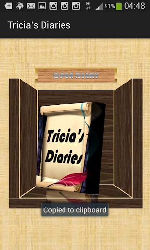 Tricia's Diaries