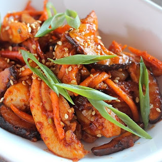Korean Chilli Chicken Stir Fry