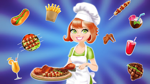 BBQ Restaurant Rush: Grill Food Cooking Stand android2mod screenshots 5