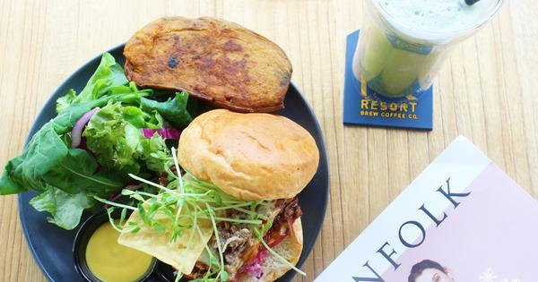 Resort Brew Coffee Co.~舒服自然慢食,份量足又美味的全日早午餐,豐盛三明治