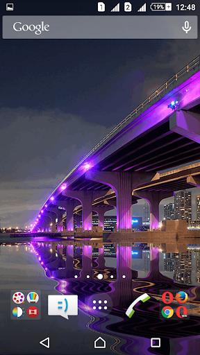 Majestic Bridge Live Wallpaper