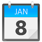 Calendario Widget Android Free icon