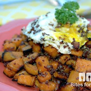 Quinoa Sweet Potato Hash
