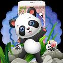 🐼🐼🐼Cute Baby Panda Theme icon