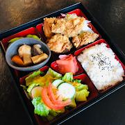 Chicken Karaage Bento (Japanese style fried chicken)