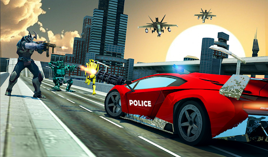 Download free US Police Multi Robot Transform: Wild Horse Games for PC on Windows and Mac apk screenshot 18