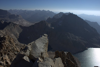 Photo: The Great Western Divide from Triple Divide Peak, south