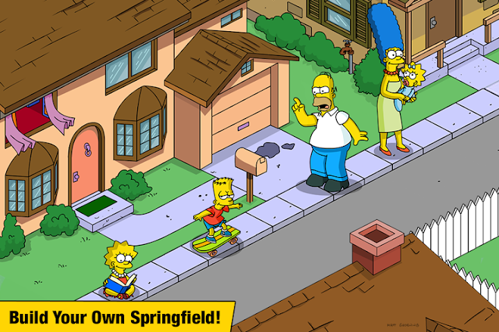 The Simpsons™:  Tapped Out Android App Screenshot