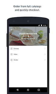 Postmates: Food Delivery. Fast- screenshot thumbnail