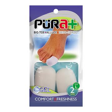 Protectores Püra+ Soft   Para Pies Silicon Dedos X1Und.