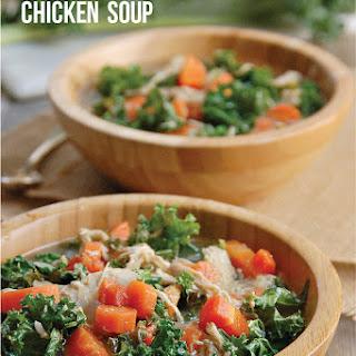 Nourishing Crock Pot Paleo Chicken & Kale Soup