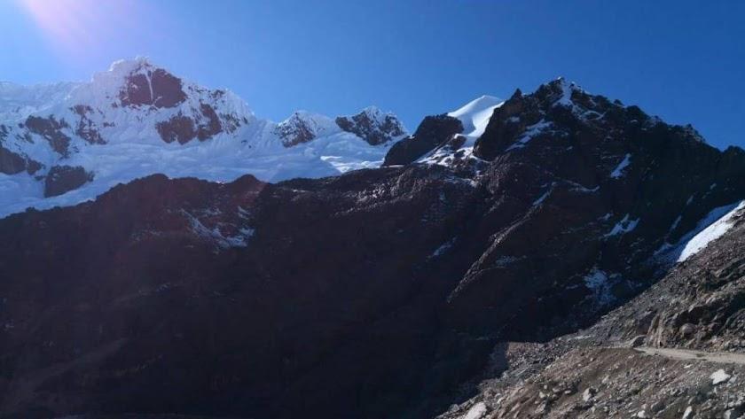 Imagen del monte Mateo en el que los tres españoles y el peruano han perdido la vida.