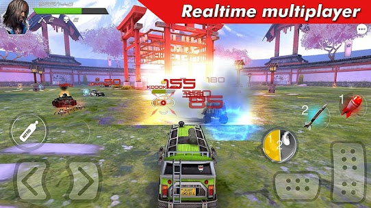 Overload Twisted Action: PvP Cars Racing Shooter 7
