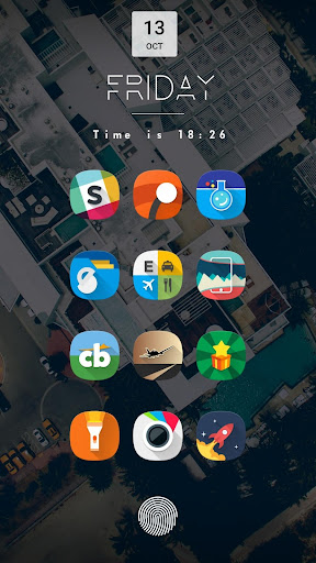 Fusion UI - Androidu2122 Oreo S9 Icon Pack  screenshots 1