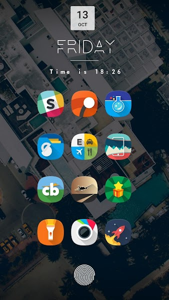Fusion UI – Android™ Oreo S9 Icon Pack v1.1.1 [Patched]