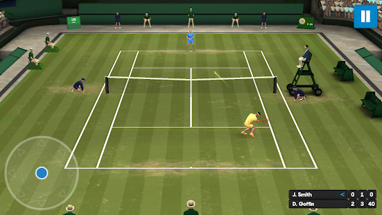 Australian Open Game Screenshot