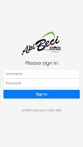 APIBECI Educare screenshot 1