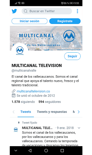 Multicanal Televisión screenshot 4
