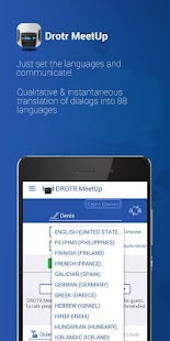 DROTR MeetUP Translator- screenshot thumbnail