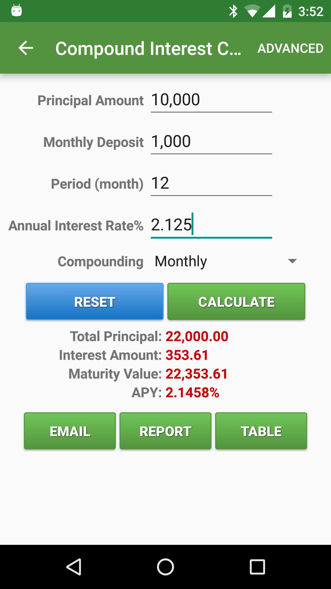 Financial Calculators screenshot #5