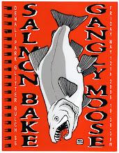 "Photo: Gangly Moose ""Salmon Bake"" flier"