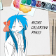 Anime Coloring Pages 2020 for PC Windows 10/8/7