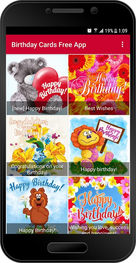 Birthday Cards Free App Android Apps on Google Play – App for Birthday Cards
