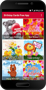 Birthday cards free app apps on google play screenshot image bookmarktalkfo Choice Image