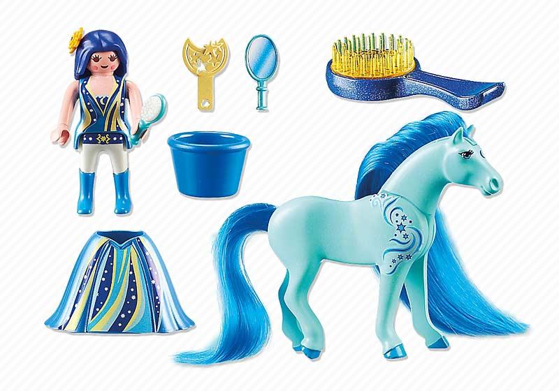 Contenido real de Playmobil® 6169 Princesa Luna con Caballo