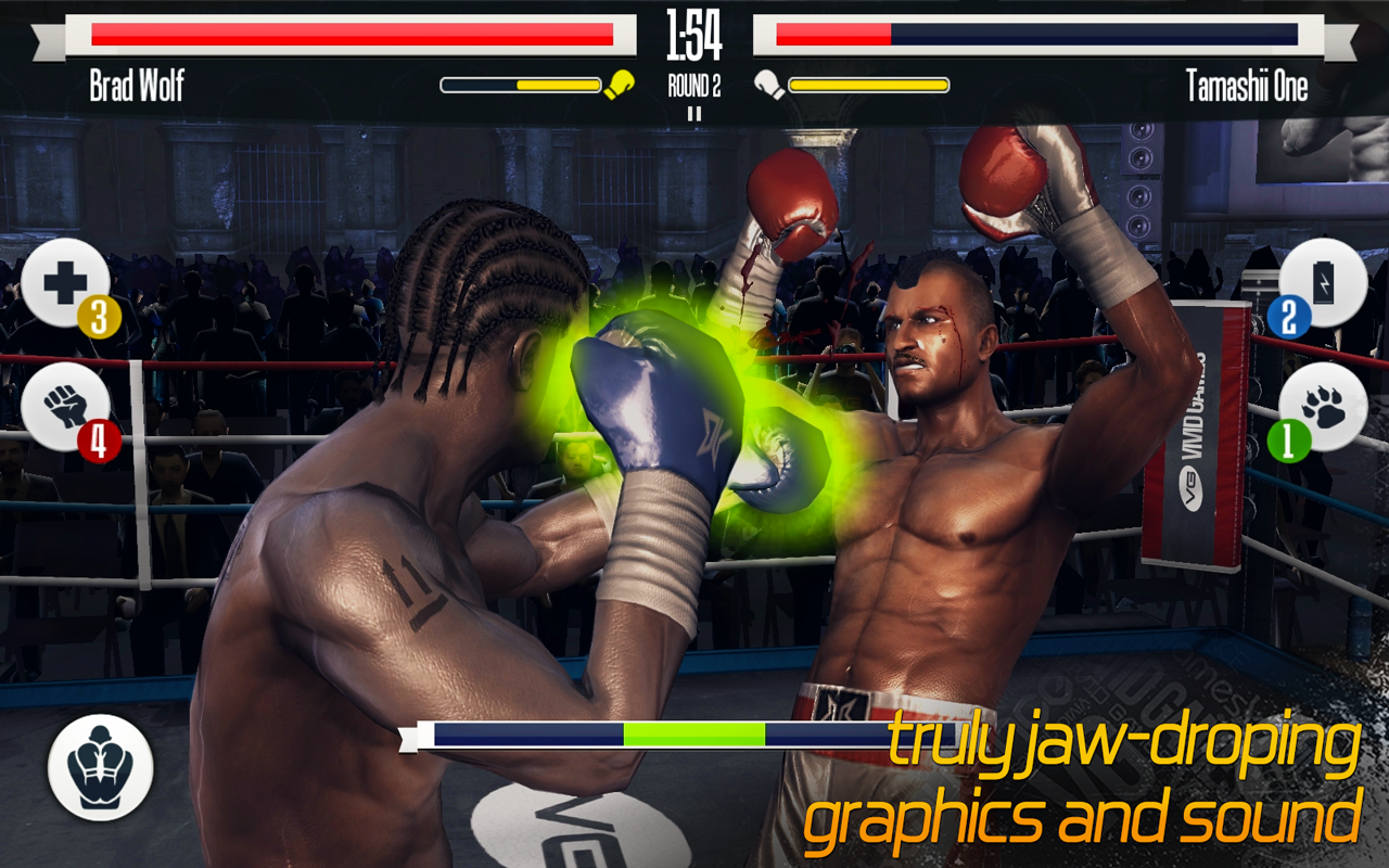 Screenshots of Real Boxing for iPhone