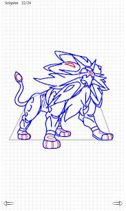Learn to Draw Pokemon Sun Moon 5