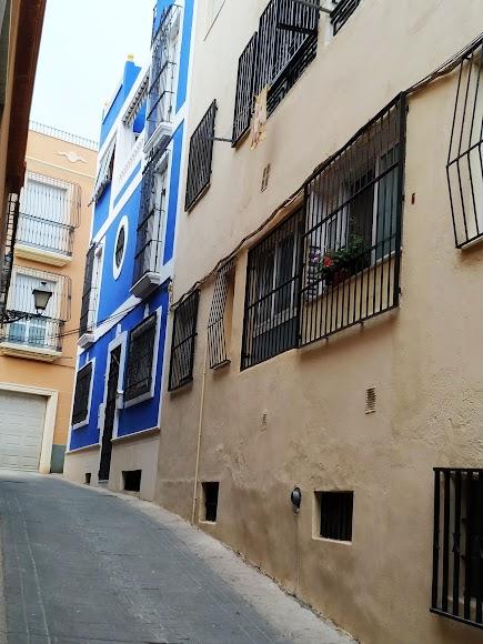 Vivienda con tintes árabes en la calle Pizarro