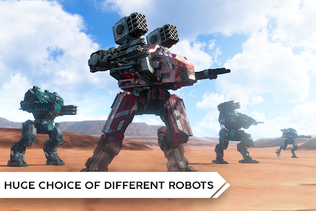 Robot Warfare Mech battle MOD (God Mod/Unlimited Ammo/Rader) 3