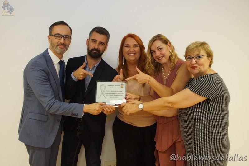 """Premios """"En Vena"""" e """"Ingeni Solidarí"""". Falla Els Generals."""