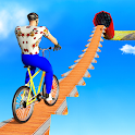 BMX Cycle Stunts Game: Fearless Cycle Rider 2020 icon