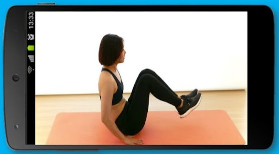 Abs Exercise for Women at Home - náhled