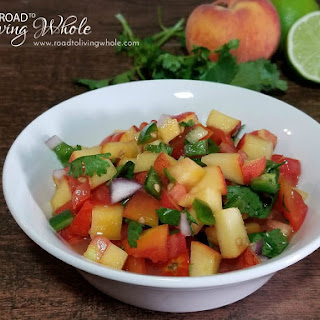 Peach Pico De Gallo Recipe