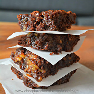 Orange Marmalade Brownies.