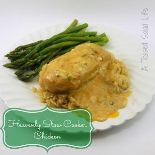 Heavenly Slow Cooker Chicken.