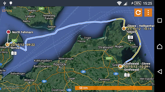 LD-Log - GPS Tracker & Logbook screenshot 6