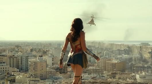 'Wonder Woman 1984': Almería, a los pies de una diosa