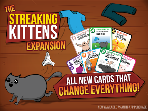 Screenshot for Exploding Kittens® - Official in United States Play Store