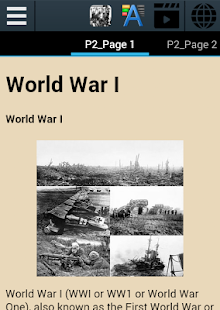 World War I History- screenshot thumbnail