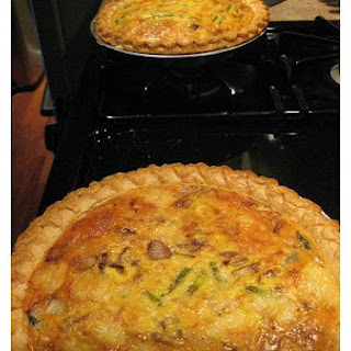 Swiss Chicken Quiche