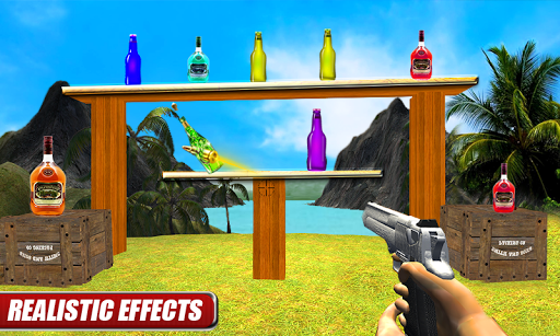 New Bottle Shooting :3D Simulator Game 2019 screenshots 3