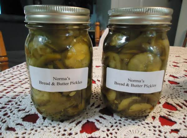Norma's Easy Bread And Butter Pickles