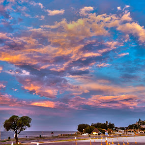 Pink Clouds by Stephen Fouche - Landscapes Cloud Formations