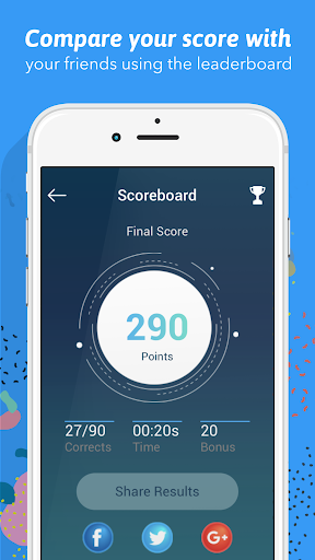 Screenshot for Chiro Board Review in United States Play Store